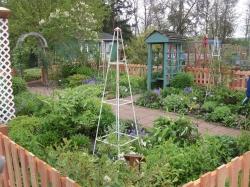 Perennial garden - my favorite