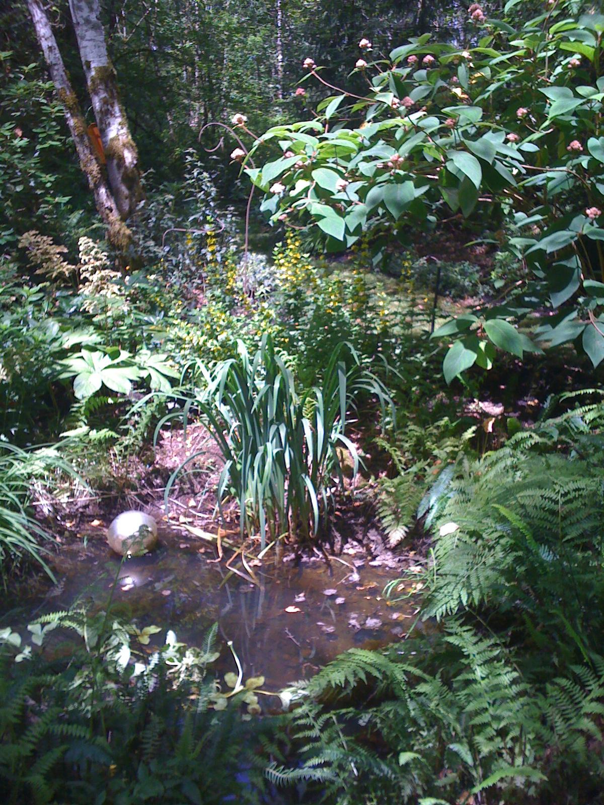 Pond for Garden pond waders