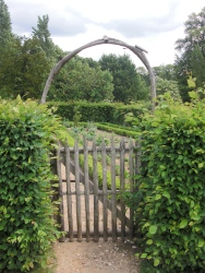 Gate and arch