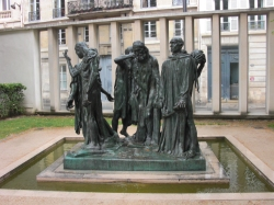 'The Burghers of Calais'