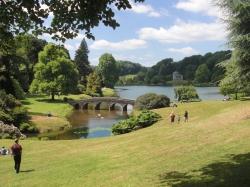 Garden & lake view