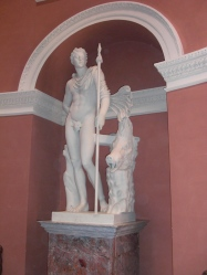 Replica of Meleager statue