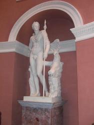 Replica of Meleager statue