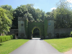 Entrance to estate