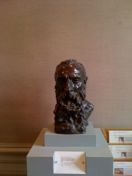 Bust of Auguste Rodin