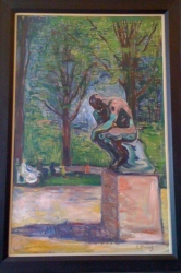 The Thinker by Edvard Munch